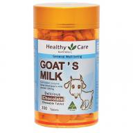 Healthy Care Goat Milk Chocolate 300 Tablets 羊奶片